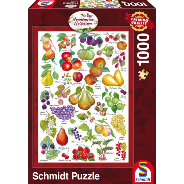 Countryside Collection- Owoce - Sklep Art Puzzle