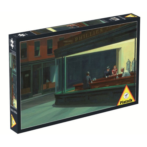 Bar Phillies, Hopper - Sklep Art Puzzle