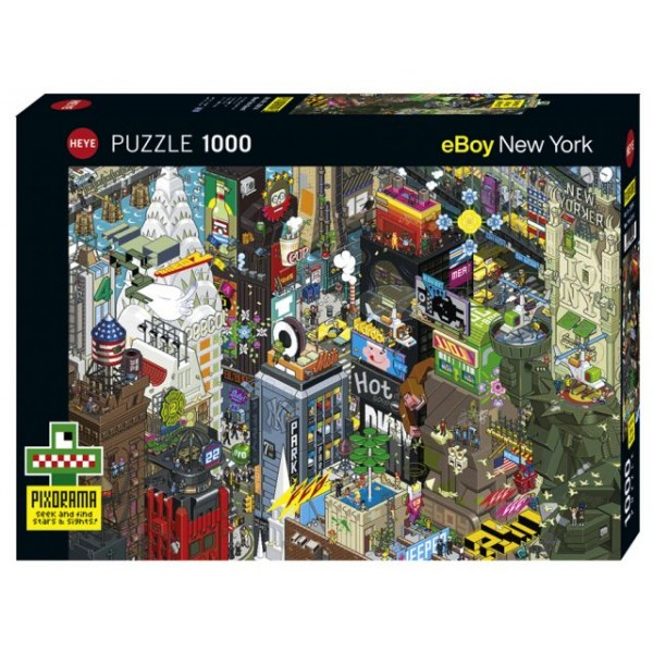 New York Quest- Pixorama (1000el.) - Sklep Art Puzzle