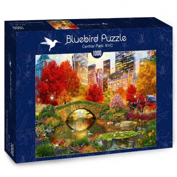 Nowy York, Central Park, David Maclean (1000el.) - Sklep Art Puzzle