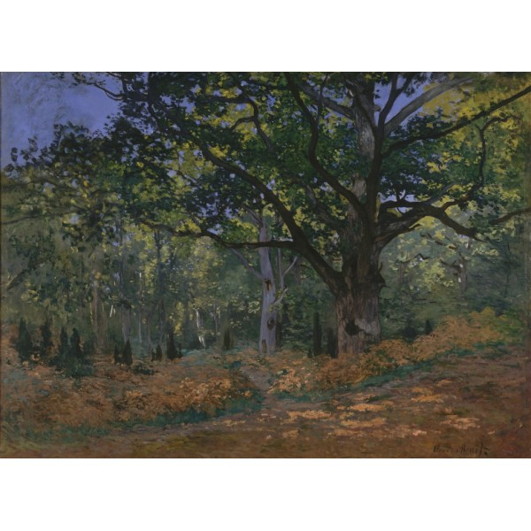Fontainebleau,Claude Monet,1865 (300el.) - Sklep Art Puzzle
