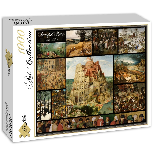 Collage, Brueghel (1000el.) - Sklep Art Puzzle