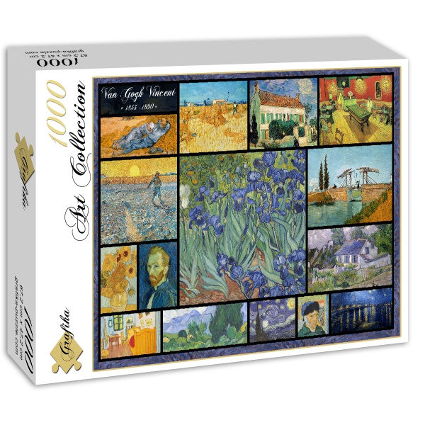 Collage, Vincent van Gogh (1000el.) - Sklep Art Puzzle