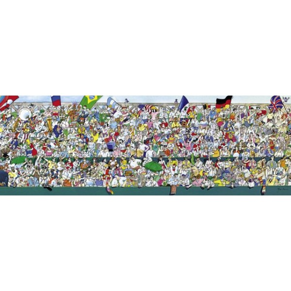 Kibicie na trybunach - Sklep Art Puzzle