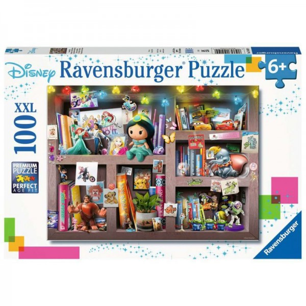 Bohaterowie Disney'a (100el. XXL.)  - Sklep Art Puzzle