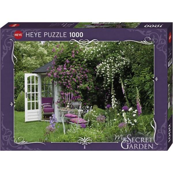 Altanka w ogrodzie (1000el.) - Sklep Art Puzzle
