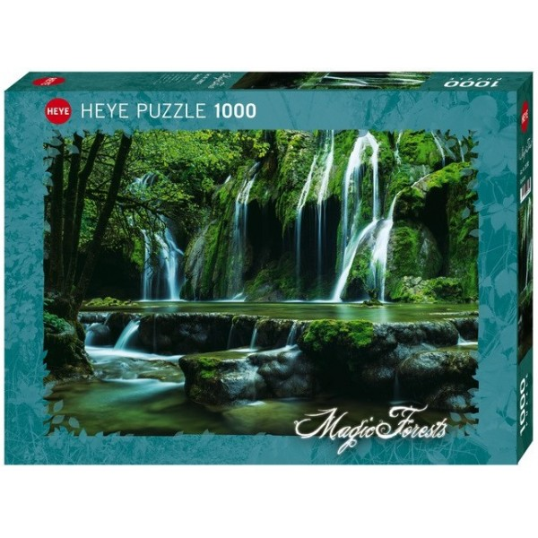 Magiczny las, Kaskady (1000el.) - Sklep Art Puzzle