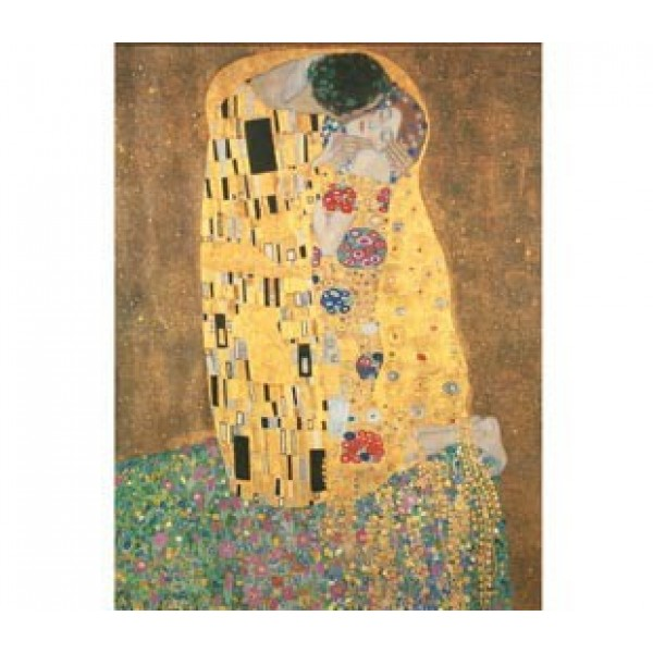 Pocałunek, Klimt (1000el.) - Sklep Art Puzzle