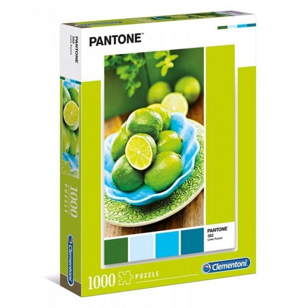 Pantone - Poncz limonkowy (1000el.) - Sklep Art Puzzle