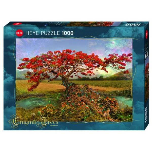 Drzewo Enigma, Drzewo Strontium (1000el.) - Sklep Art Puzzle