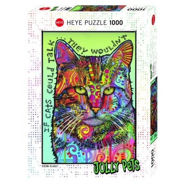 Kot II, Jolly Pets (1000el.) - Sklep Art Puzzle