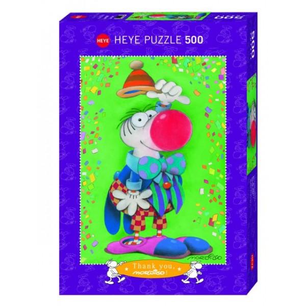Klaun, Mordillo (500el.) - Sklep Art Puzzle