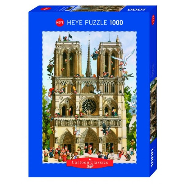 Vive Notre Dame, Loup (1000el.) - Sklep Art Puzzle