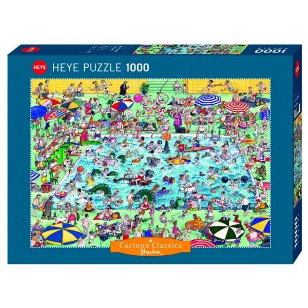 Zabawa w basenie, Blachon (1000el.) - Sklep Art Puzzle