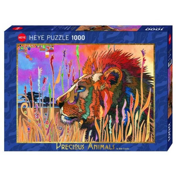 Cenne zwierzęta, Król zwierząt (1000el.) - Sklep Art Puzzle