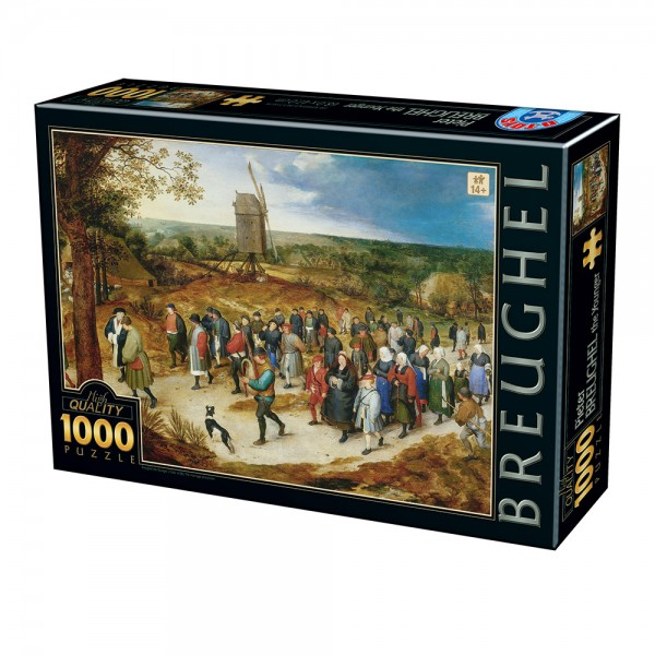 Orszak małżeński, Brueghel (1000el.) - Sklep Art Puzzle