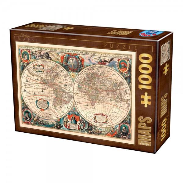 Antyczna mapa (1000el.) - Sklep Art Puzzle