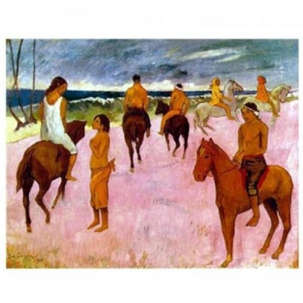 Konie na plaży, Paul Gauguin (1000el.) - Sklep Art Puzzle