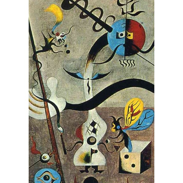 Karnawał Arlekina,Joan Miro (1000el.) - Sklep Art Puzzle