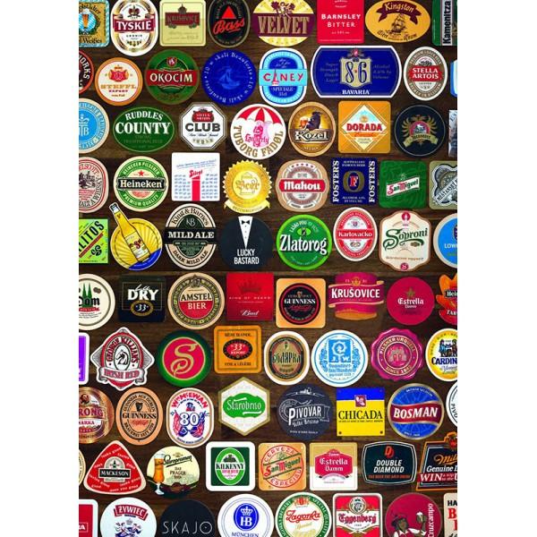 Podkładki pod piwo (1000el.) - Sklep Art Puzzle