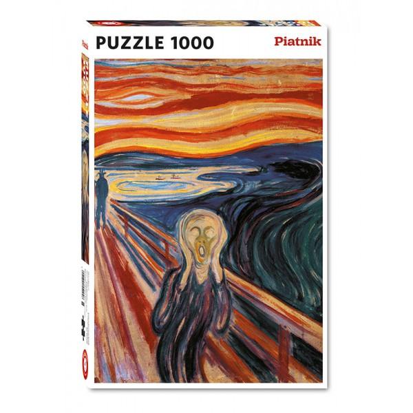 Krzyk, Munch (1000el.) - Sklep Art Puzzle