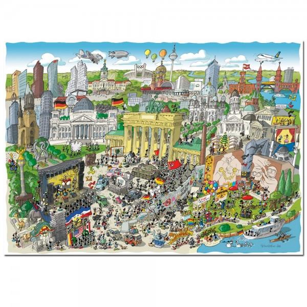 Mrówki zwiedzają zabytki Berlina - Sklep Art Puzzle