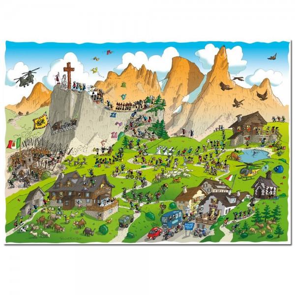 Mrówki na trekkingu - Sklep Art Puzzle
