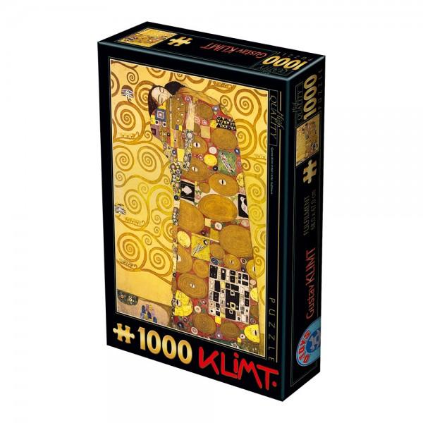 Miłość, Klimt - Sklep Art Puzzle