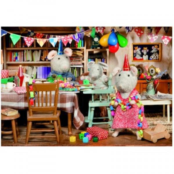 Urodziny myszki, Mansion - Sklep Art Puzzle