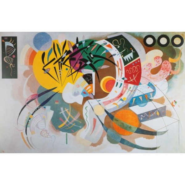 Dominacja kreski, Vassily Kandinsky (1000el.) - Sklep Art Puzzle