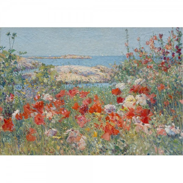 Ogród pełen kwiatów Celii, Hassam - Sklep Art Puzzle