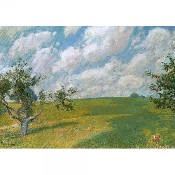 Wrześniowe chmury, Hassam - Sklep Art Puzzle