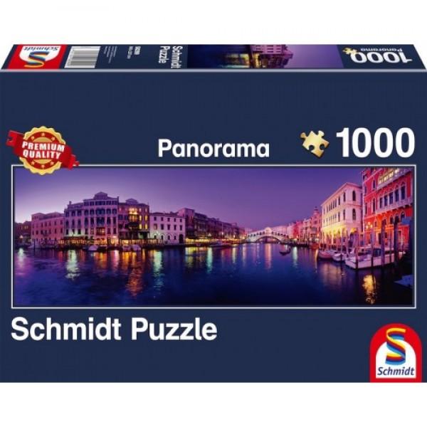 Wielki kanał w Wenecji, Włochy (1000el.) - Sklep Art Puzzle