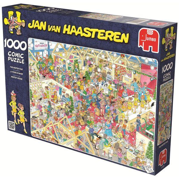 Targi zimowe, Jan Van Haasteren - Sklep Art Puzzle
