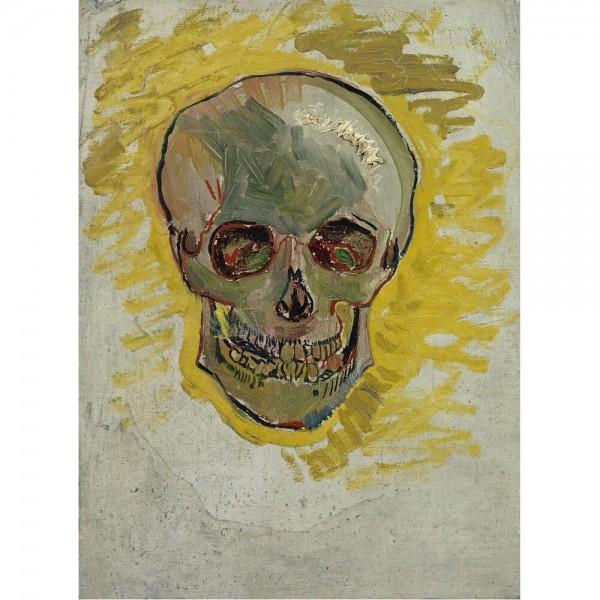Czaszka, Van Gogh (2000el.) - Sklep Art Puzzle
