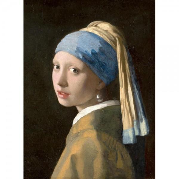 Dziewczyna z perłą, Vermeer ( 2000el.) - Sklep Art Puzzle
