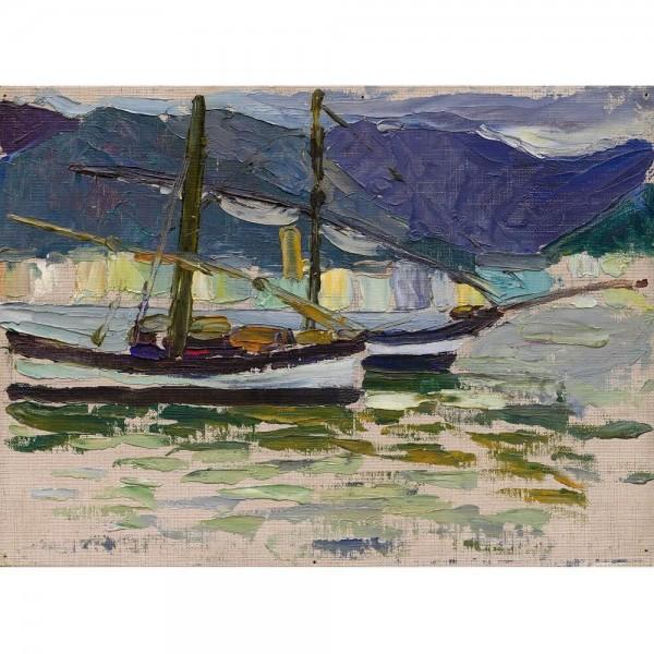 Łodzie rybackie, Kandinsky (2000el.) - Sklep Art Puzzle