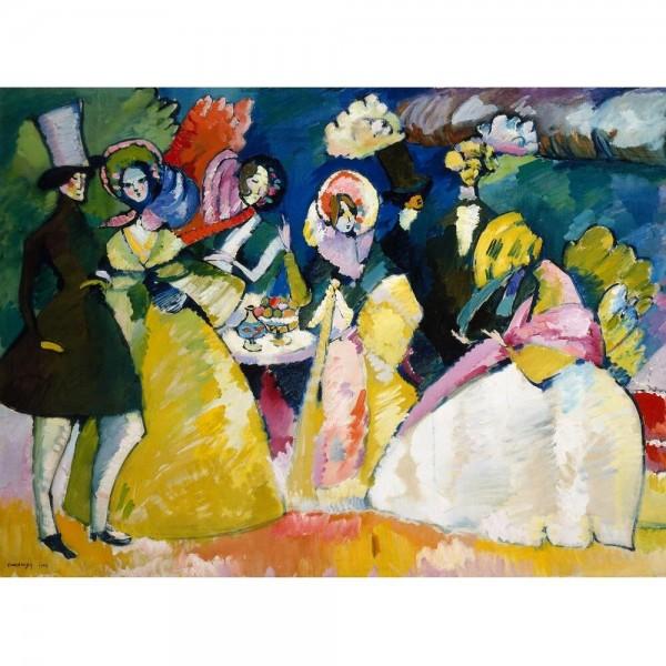Grupa w krynolinach, Kandinsky (2000el.) - Sklep Art Puzzle