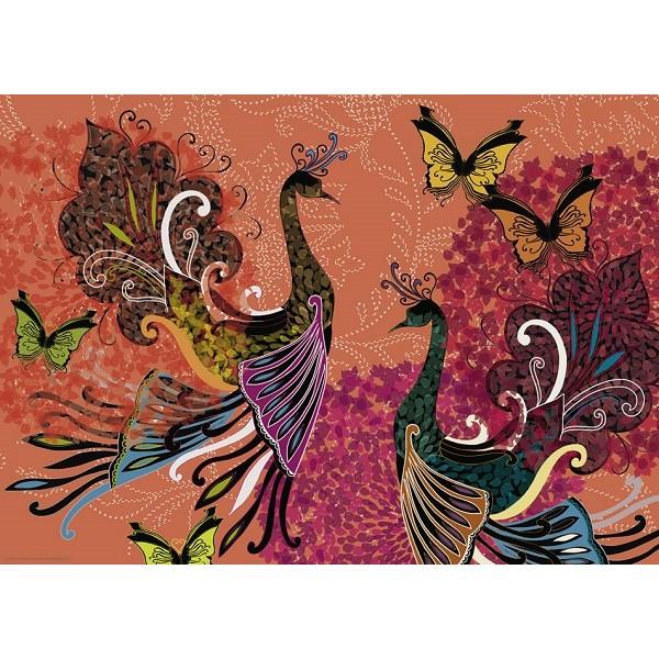 Pawie i motyle, Turnowsky - Sklep Art Puzzle