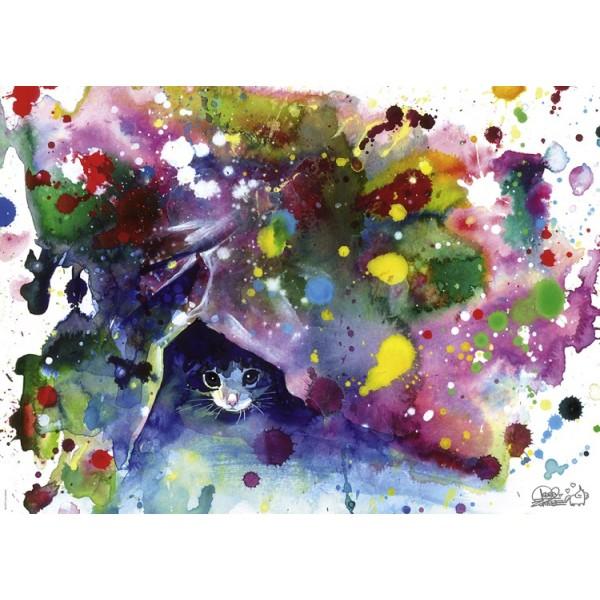 Wolne kolory, Kotek - Sklep Art Puzzle