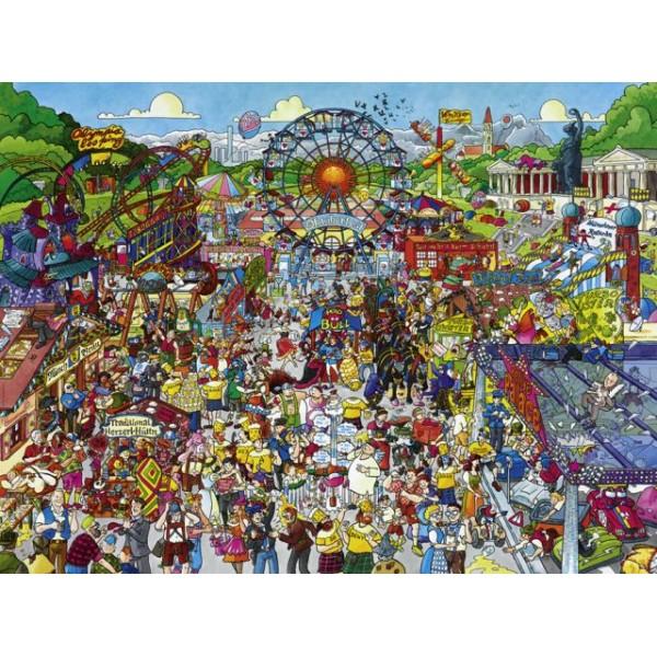 Oktoberfest, Schone (Puzzle+plakat) - Sklep Art Puzzle