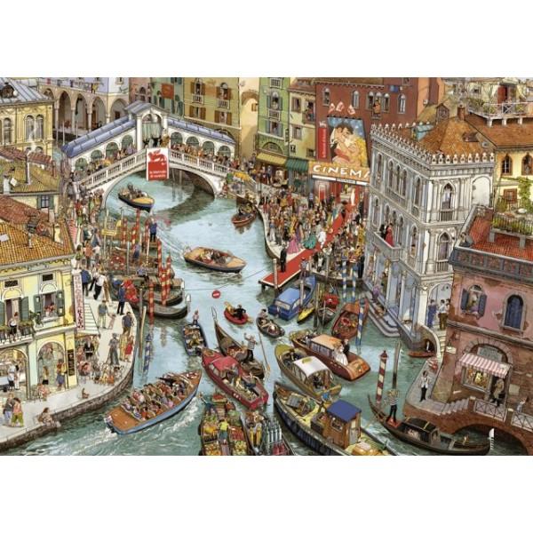 O Sole Mio!, Göbel & Knorr (Puzzle+plakat) - Sklep Art Puzzle