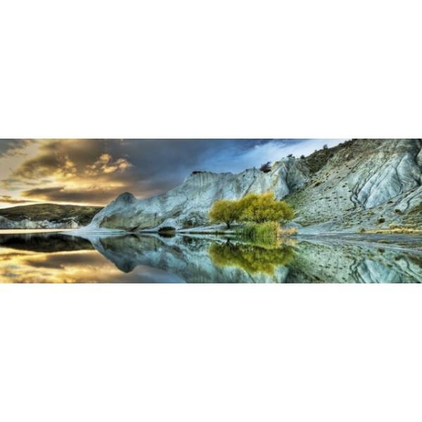 Niebieskie jezioro - Sklep Art Puzzle