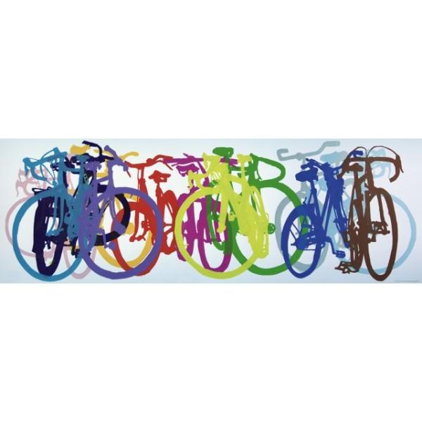 Bike art, Tęcza - Sklep Art Puzzle