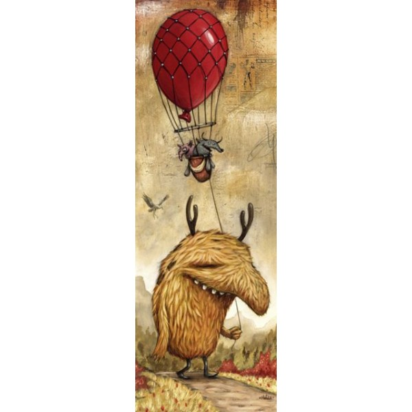Zozoville, Czerwony balon - Sklep Art Puzzle