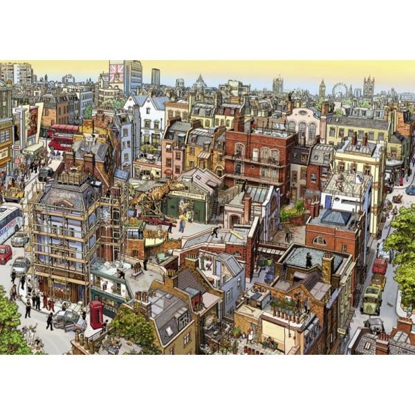 Sherlock & Co. ,Göbel & Knorr (Puzzle+plakat) - Sklep Art Puzzle