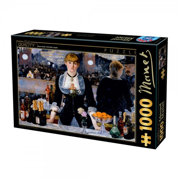 Bar w Folies- Bergere, Manet - Sklep Art Puzzle