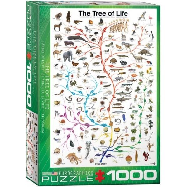 Drzewo życia, Natura (1000el.) - Sklep Art Puzzle