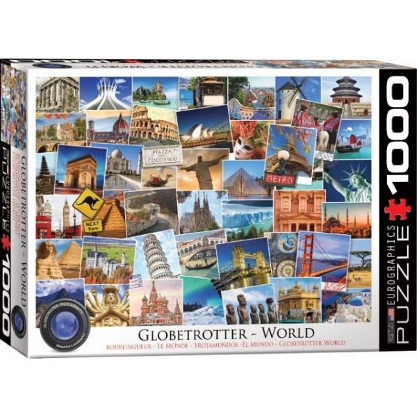 Globtroter, Świat (1000el.) - Sklep Art Puzzle