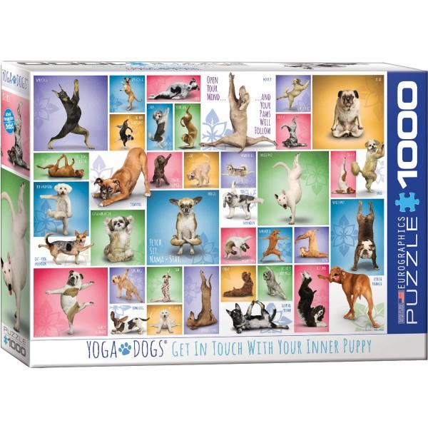 Psia joga (1000el.) - Sklep Art Puzzle